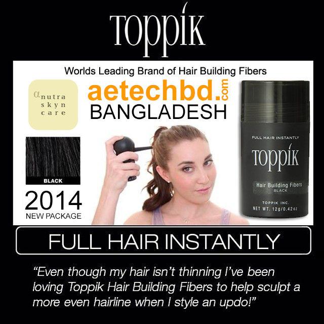 Toppik Hair Building Fiber USA